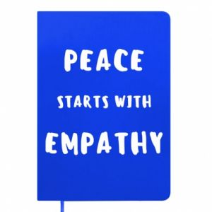 Notes Peace starts with empathy