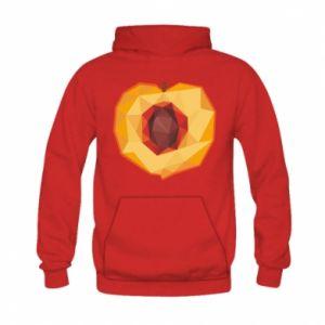 Bluza z kapturem dziecięca Peach graphics