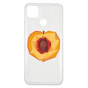 Etui na Xiaomi Redmi 9c Peach graphics