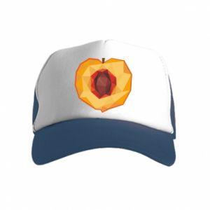 Czapka trucker dziecięca Peach graphics
