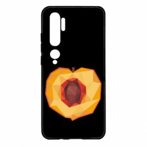 Etui na Xiaomi Mi Note 10 Peach graphics
