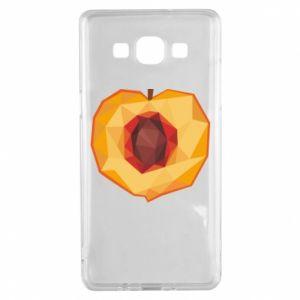Etui na Samsung A5 2015 Peach graphics