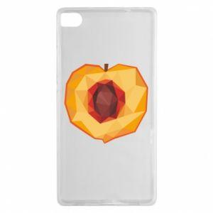 Etui na Huawei P8 Peach graphics