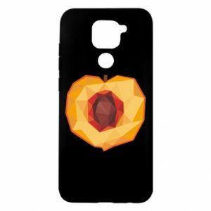 Etui na Xiaomi Redmi Note 9/Redmi 10X Peach graphics