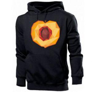 Men's hoodie Peach graphics