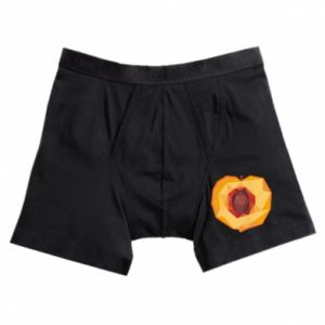 Boxer trunks Peach graphics