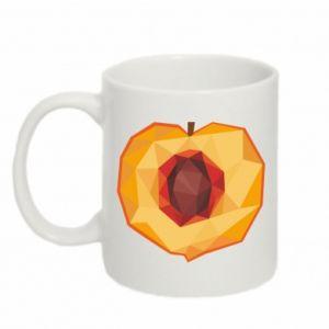 Kubek 330ml Peach graphics