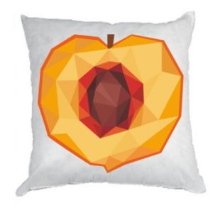 Poduszka Peach graphics