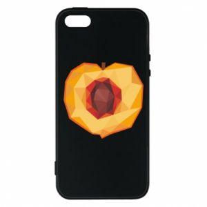 Etui na iPhone 5/5S/SE Peach graphics