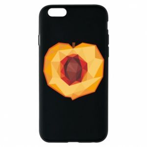Etui na iPhone 6/6S Peach graphics