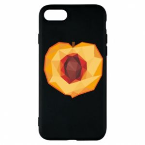 Etui na iPhone 7 Peach graphics