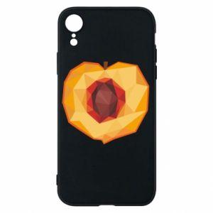 Etui na iPhone XR Peach graphics