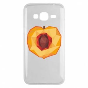 Etui na Samsung J3 2016 Peach graphics
