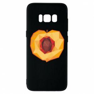 Etui na Samsung S8 Peach graphics
