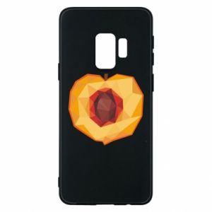 Etui na Samsung S9 Peach graphics