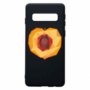 Etui na Samsung S10 Peach graphics