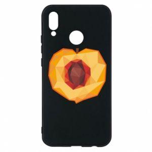 Etui na Huawei P20 Lite Peach graphics