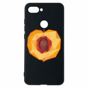 Etui na Xiaomi Mi8 Lite Peach graphics