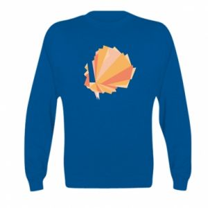 Bluza dziecięca Peacock Abstraction