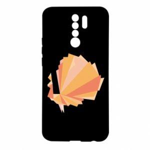 Etui na Xiaomi Redmi 9 Peacock Abstraction