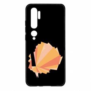 Etui na Xiaomi Mi Note 10 Peacock Abstraction