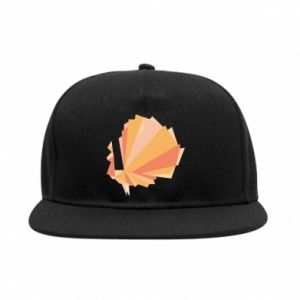 Snapback Peacock Abstraction