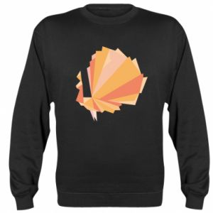 Sweatshirt Peacock Abstraction - PrintSalon