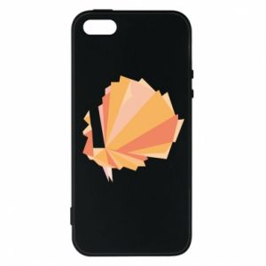 Phone case for iPhone 5/5S/SE Peacock Abstraction - PrintSalon