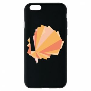 Phone case for iPhone 6/6S Peacock Abstraction - PrintSalon