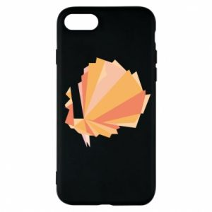 Phone case for iPhone 7 Peacock Abstraction - PrintSalon