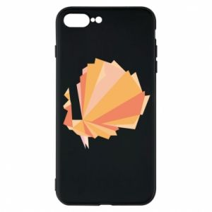 Phone case for iPhone 7 Plus Peacock Abstraction - PrintSalon