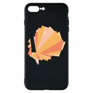 Phone case for iPhone 8 Plus Peacock Abstraction - PrintSalon