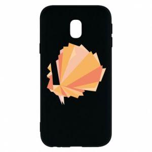 Phone case for Samsung J3 2017 Peacock Abstraction - PrintSalon