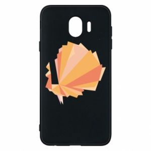 Phone case for Samsung J4 Peacock Abstraction - PrintSalon