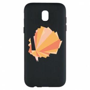 Phone case for Samsung J5 2017 Peacock Abstraction - PrintSalon