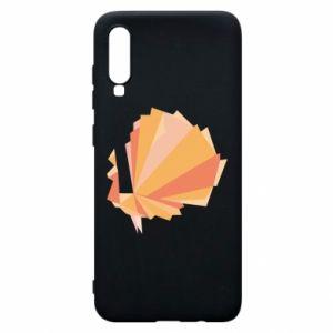 Phone case for Samsung A70 Peacock Abstraction - PrintSalon
