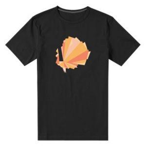 Men's premium t-shirt Peacock Abstraction - PrintSalon