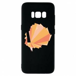 Phone case for Samsung S8 Peacock Abstraction - PrintSalon