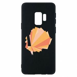 Phone case for Samsung S9 Peacock Abstraction - PrintSalon