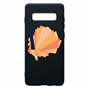 Phone case for Samsung S10+ Peacock Abstraction - PrintSalon