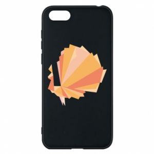 Phone case for Huawei Y5 2018 Peacock Abstraction - PrintSalon