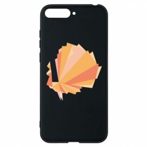 Phone case for Huawei Y6 2018 Peacock Abstraction - PrintSalon