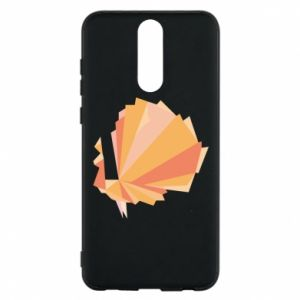Phone case for Huawei Mate 10 Lite Peacock Abstraction - PrintSalon