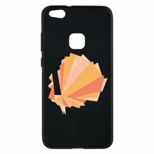 Phone case for Huawei P10 Lite Peacock Abstraction - PrintSalon