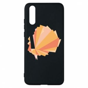 Phone case for Huawei P20 Peacock Abstraction - PrintSalon