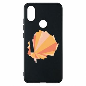 Phone case for Xiaomi Mi A2 Peacock Abstraction - PrintSalon