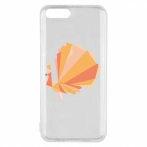 Phone case for Xiaomi Mi6 Peacock Abstraction - PrintSalon
