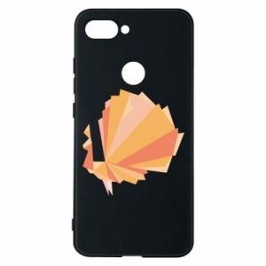 Phone case for Xiaomi Mi8 Lite Peacock Abstraction - PrintSalon