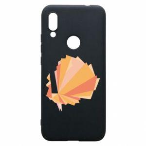 Phone case for Xiaomi Redmi 7 Peacock Abstraction - PrintSalon