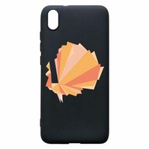 Phone case for Xiaomi Redmi 7A Peacock Abstraction - PrintSalon